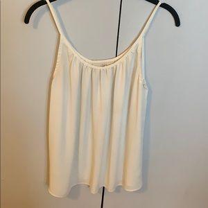 Loft size S blouse in white